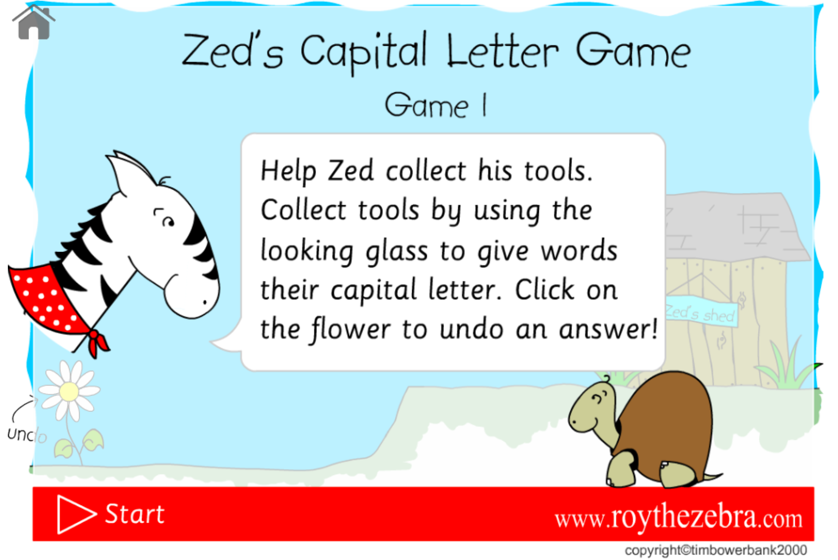Capital Letter Games