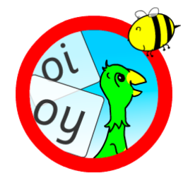 Mango with oi and oy words logo